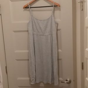 Other - Grey polka dot nightgown